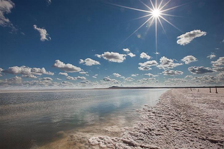 Озеро Баскунчак вошло в список аномальных мест России
