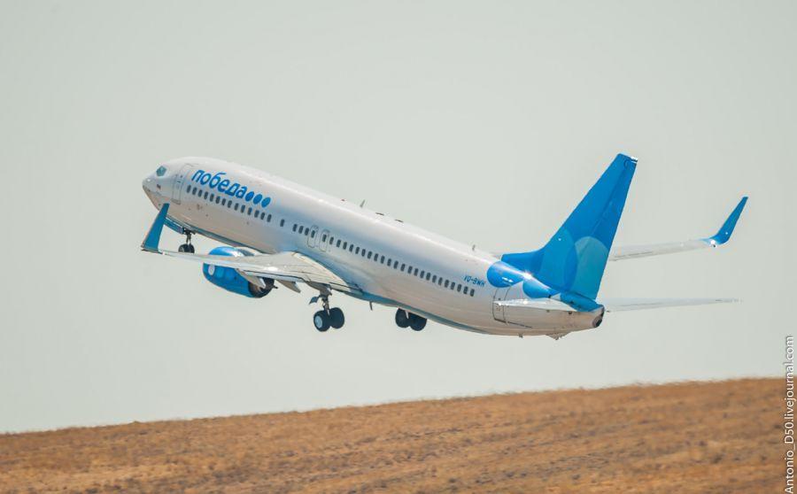Авиакомпания «Победа» стала реже летать в Астрахань