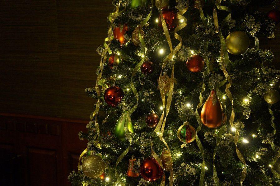 Новогодний релакс: видео астраханской елочки на Трусово