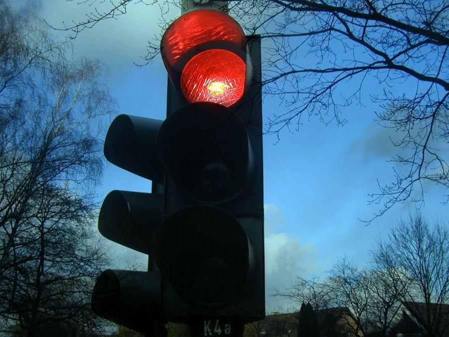 В Астрахани появился новый светофор