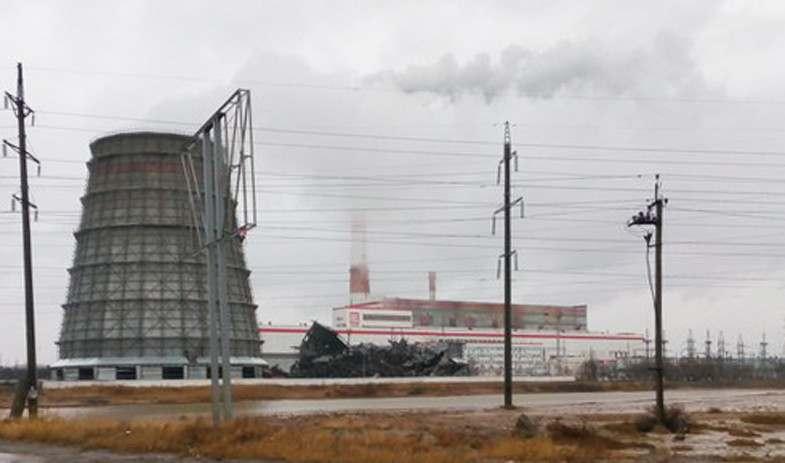 Астраханская ТЭЦ-2 лишилась одной из труб