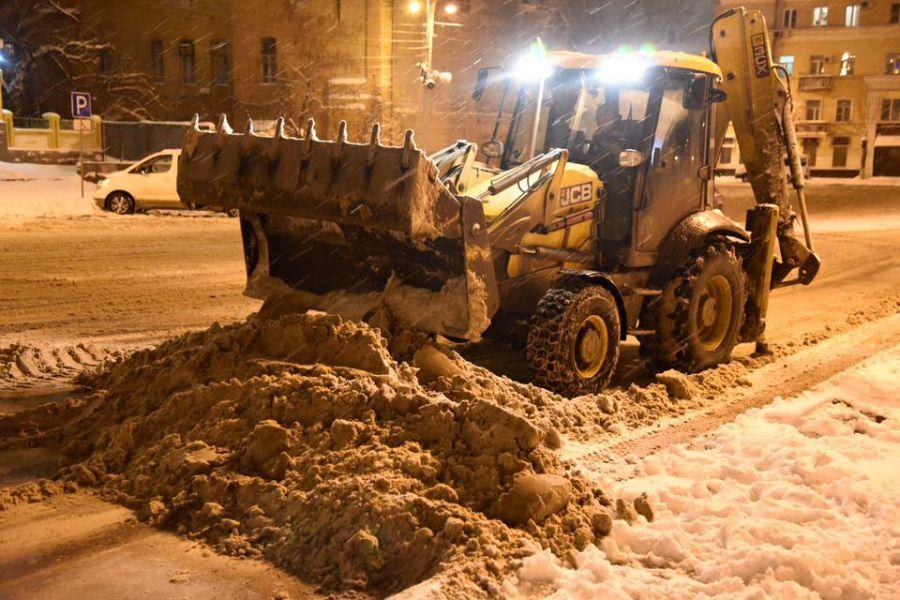 Снег еще раз накроет Астрахань