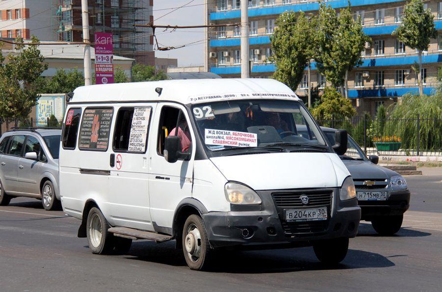 В Астрахани внесли изменения в маршрутную сеть