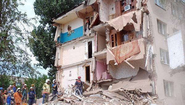 Астраханской области прогнозируют обрушение зданий