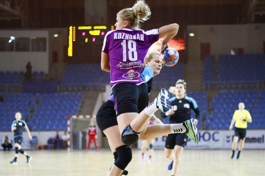 «Астраханочка» победила команду из Ставрополя