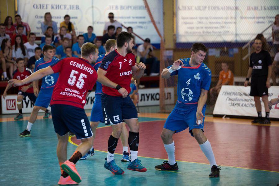 Гандбольный турнир в Астрахани закончился третьим местом для «Динамо»