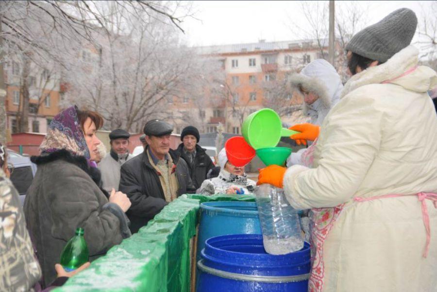 Астраханцев обеспечат святой водой на Крещение