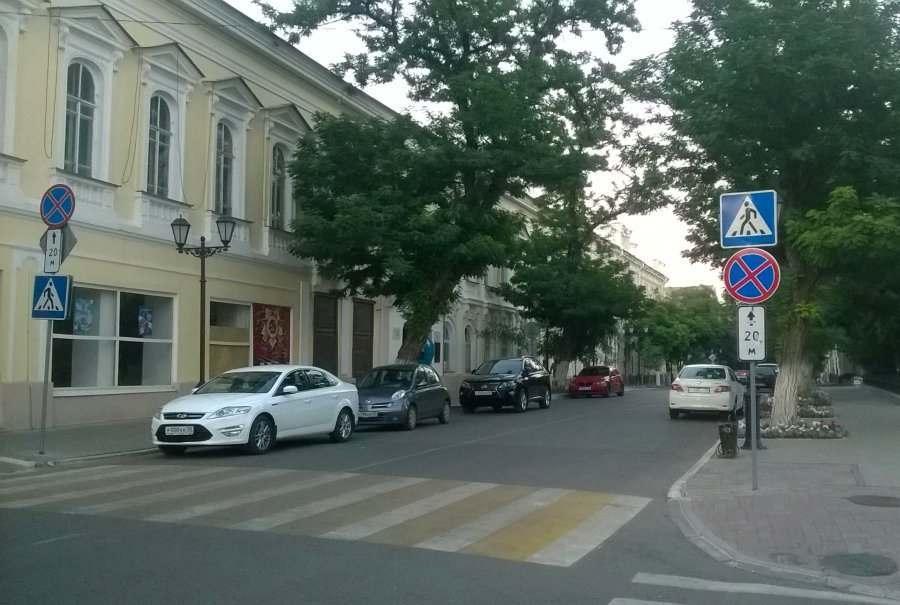 Первая в Астрахани платная парковка появится в апреле