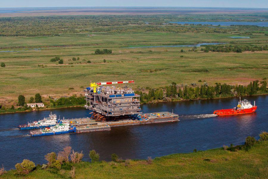Платформу для «ЛУКОЙЛа» на Каспии построит «Каспийская гидротехническая компания»