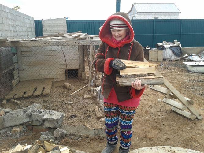 Жители поселка под Астраханью пытаются пережить зиму без газа