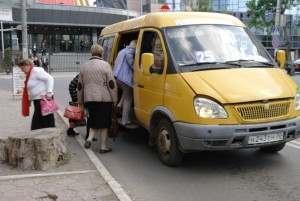 В Астрахани подешевел проезд в маршрутке 25с