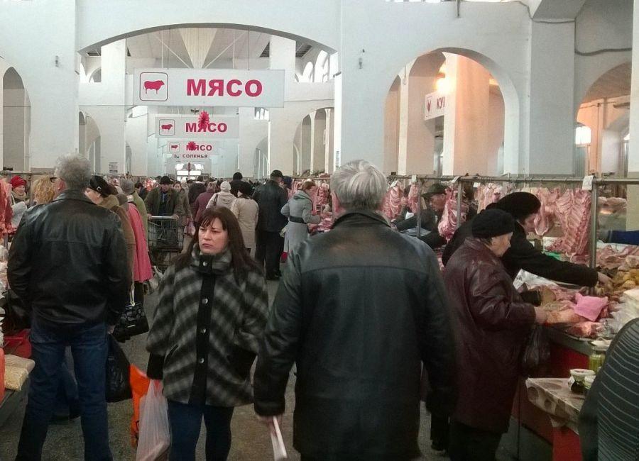 Продавцы на Больших Исадах протестуют