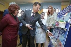 Александра Жилкина вновь познакомили с инновациями