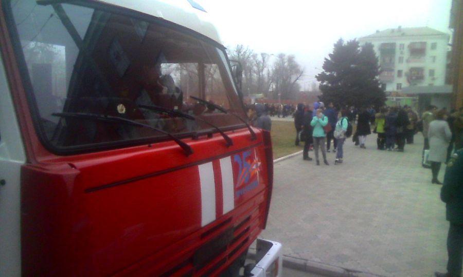 В Астраханском государственном университете загорелся спортзал