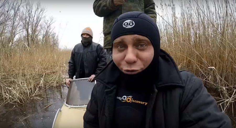 Подводные охотники из Липецка приехали за астраханской рыбой