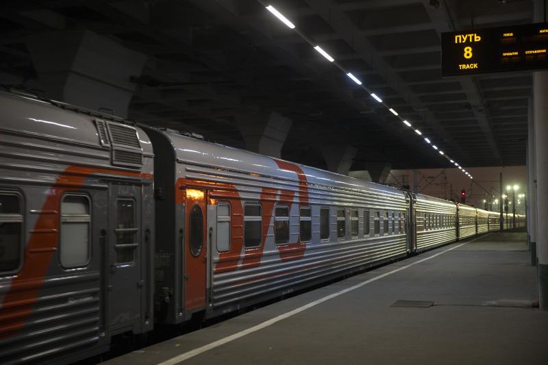 В поезде Санкт-Петербург — Астрахань появится микроволновка, душ и холодильник