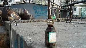 Астраханский алкоголик попался на торговле водкой в гаражах