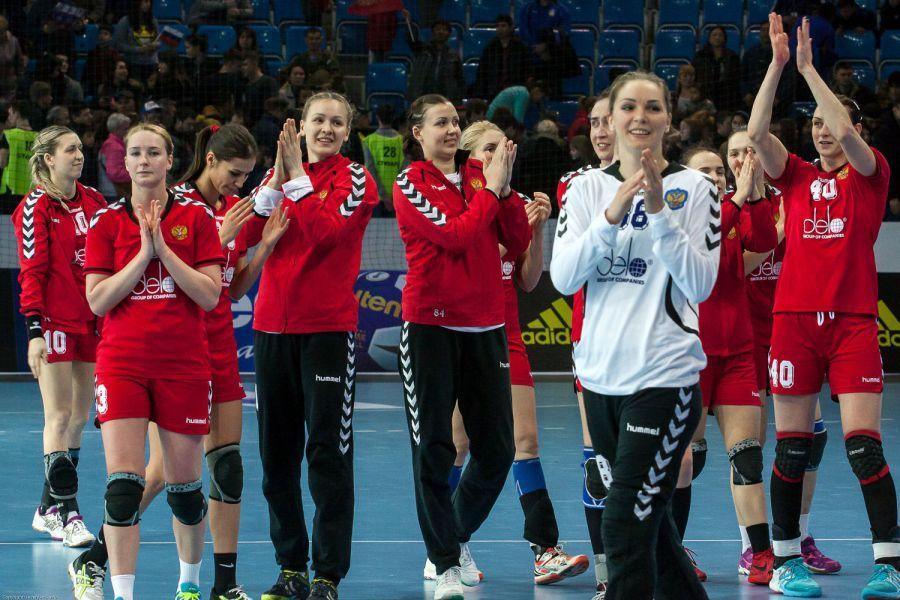 Женская сборная России по гандболу в Астрахани победила всех