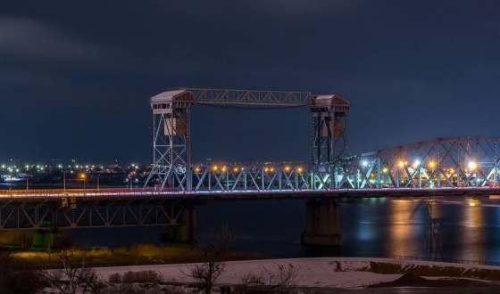 Ночью будут ремонтировать Старый мост