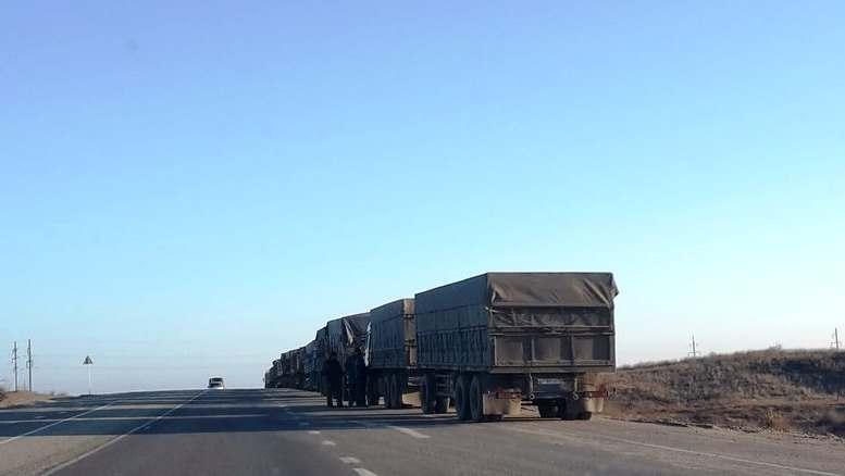 Движение большегрузов по астраханским дорогам ограничат