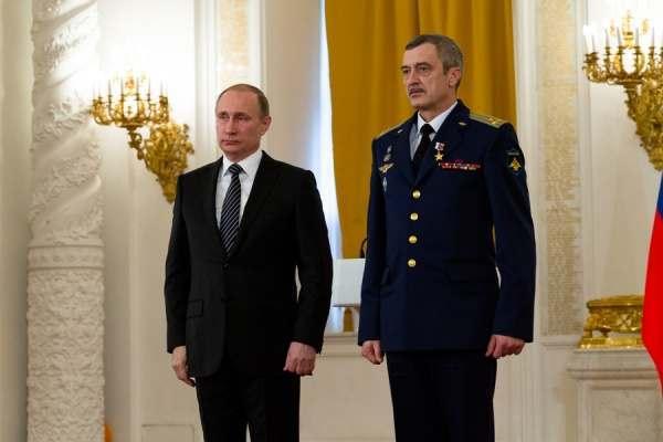 Полковник из Ахтубинска стал Героем России