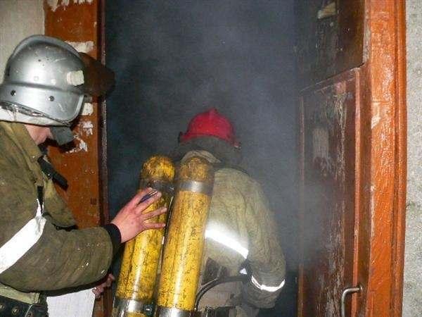 В Астраханской области на пожаре погиб мужчина