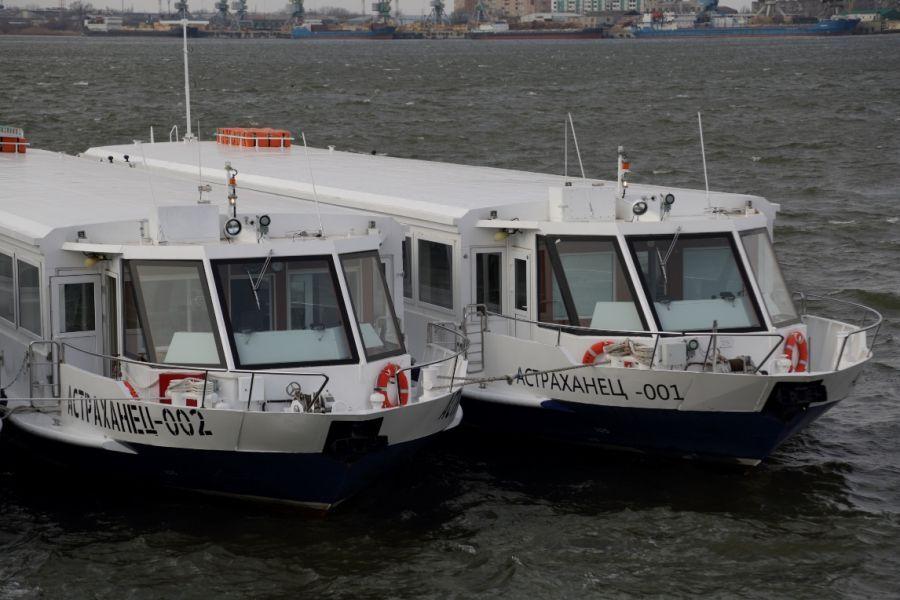 Астраханские власти назвали причину отсутствия новых речных трамвайчиков на рейсах