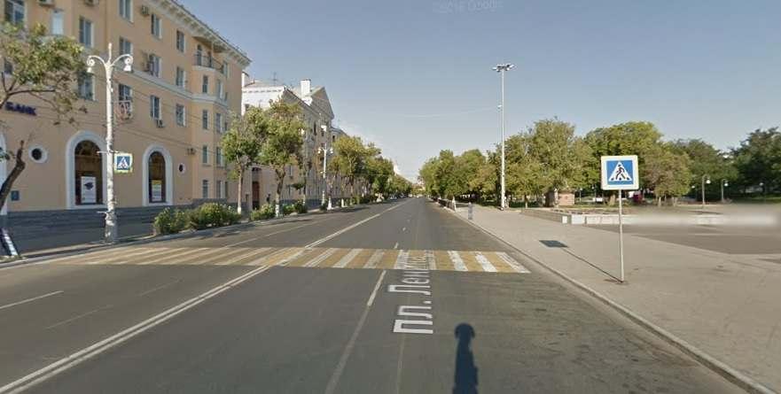 На улице Ленина предлагают уложить «лежачие полицейские»