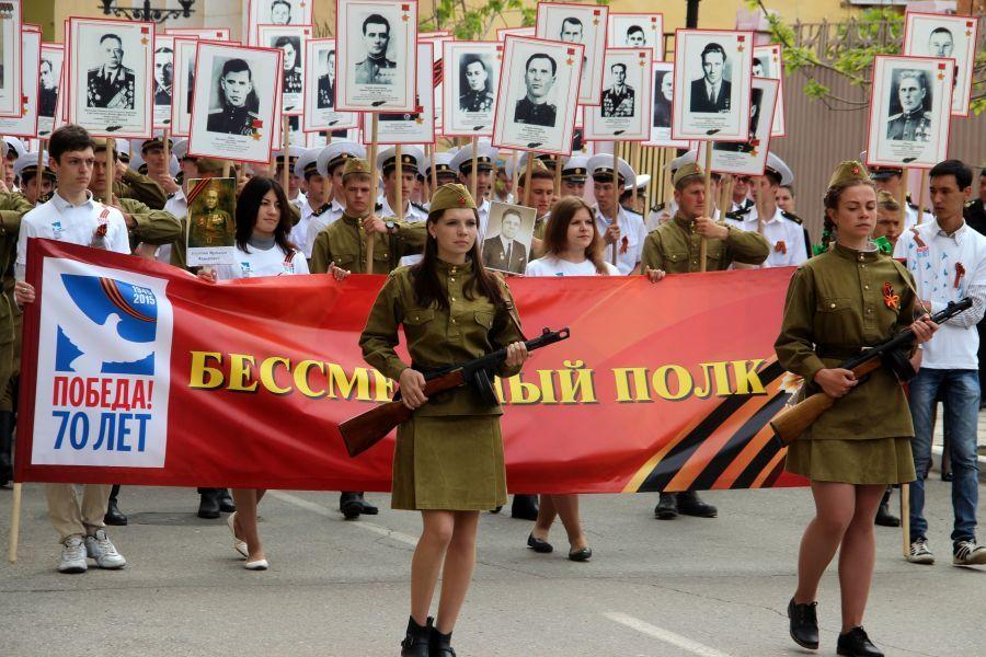 Астраханцам помогут напечатать портреты для акции «Бессмертный полк»