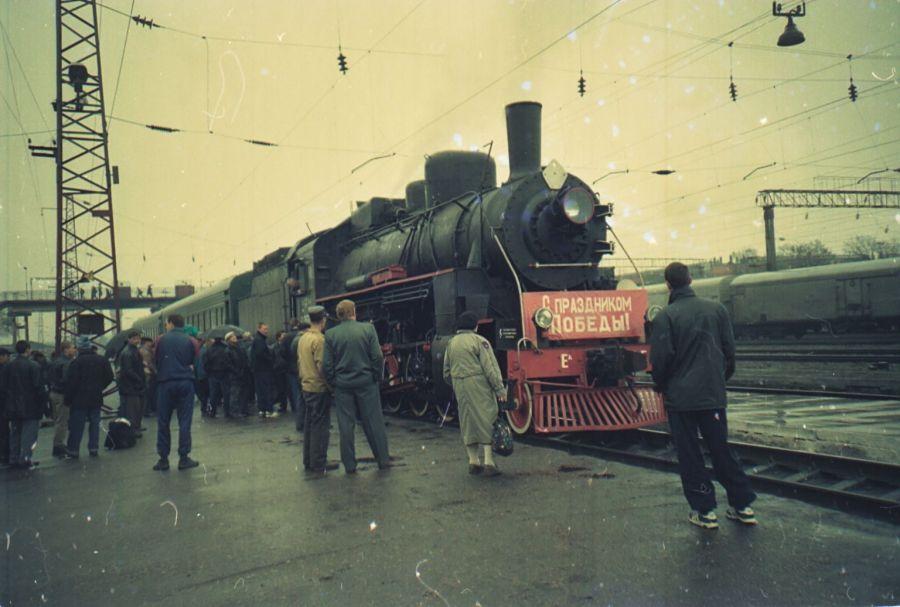 Паровоз доставит в Астрахань «Поезд Победы»