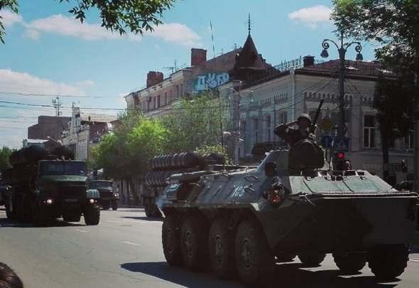 В центре Астрахани ограничат движение