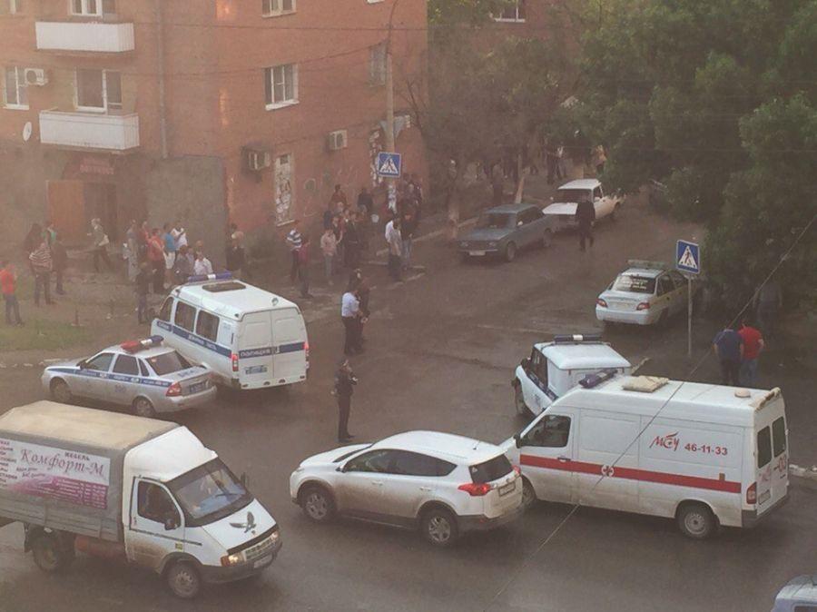 На улице Академика Королева произошел взрыв