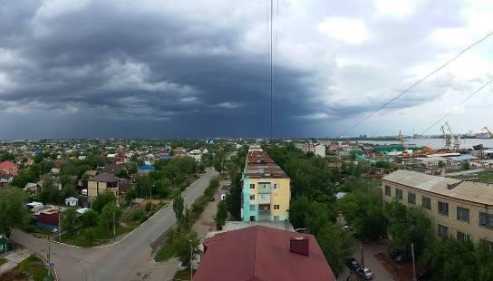 Синоптики и сегодня обещают Астрахани дождь