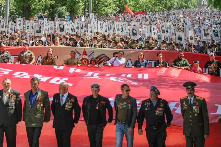 Празднование Дня Победы собрало в Астрахани более 80 тысяч человек