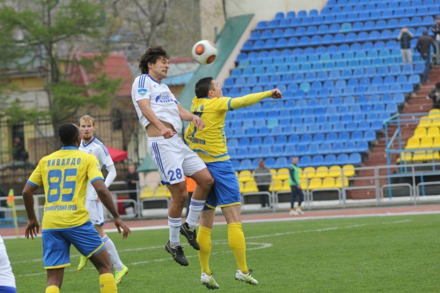 «Волгарь» сыграл вничью во Владивостоке