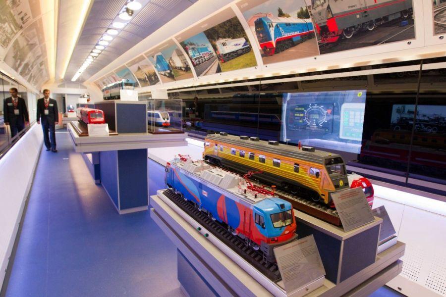 В Астрахань прибудет поезд-музей
