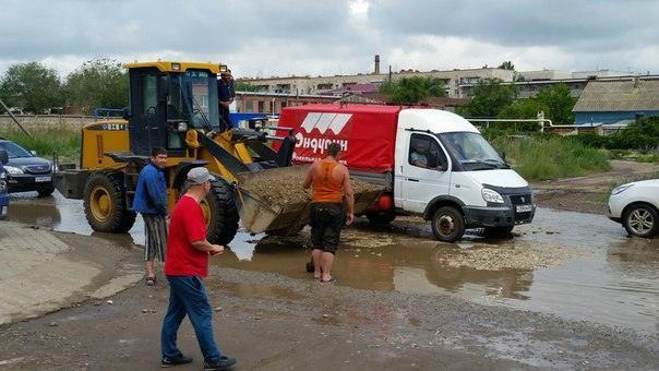 Астраханцы самостоятельно начали ремонт ул. 5-й Керченской