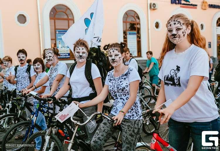 Астраханцам напоминают про велопарад в это воскресенье