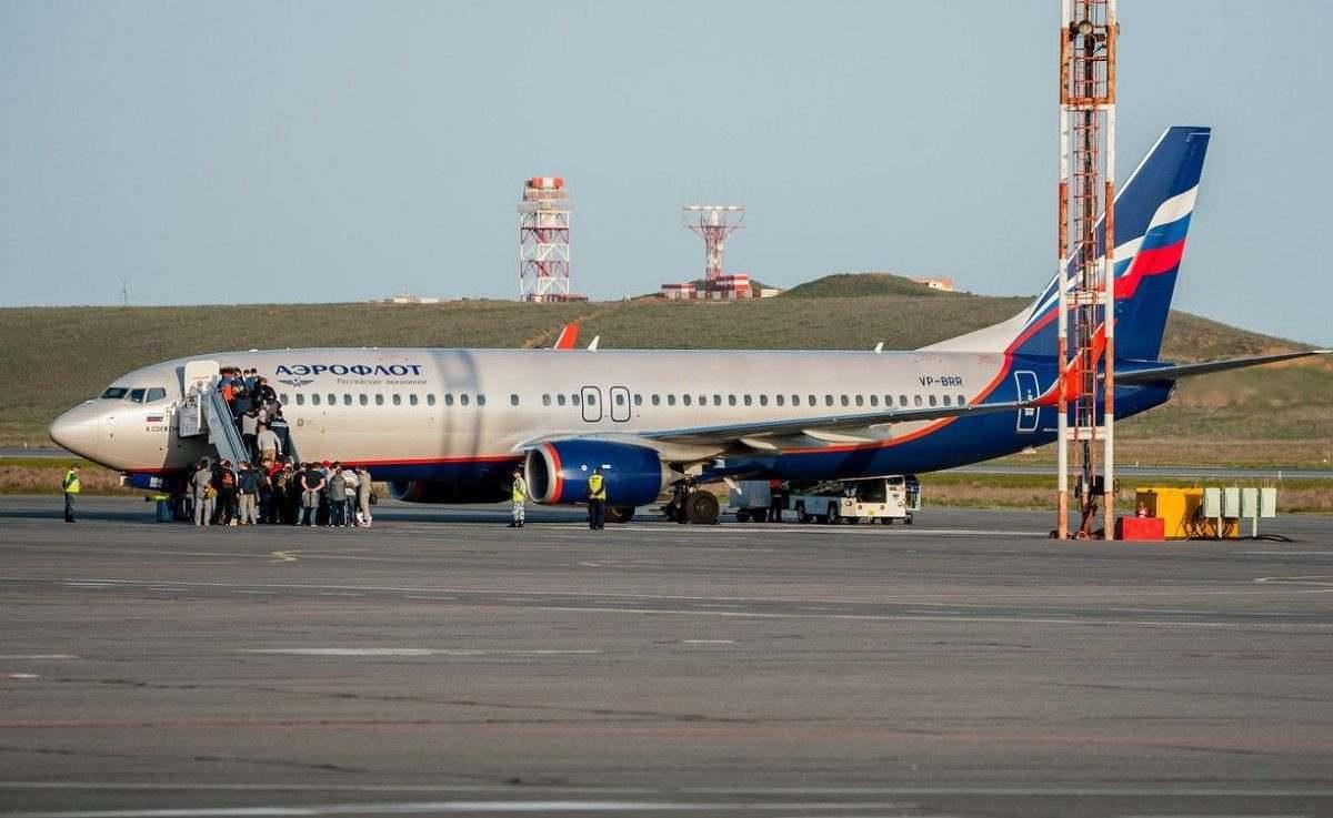Пассажиропоток аэропорта Астрахань сократился на 17%