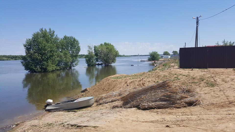 Уровень воды в Астраханской области начал снижаться