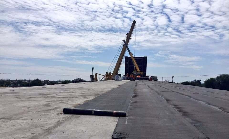Кирикилинский мост обещают открыть в следующем году