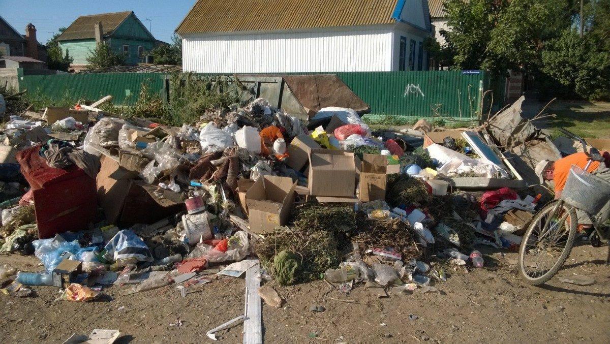 В Астраханской области появится «карта свалок»