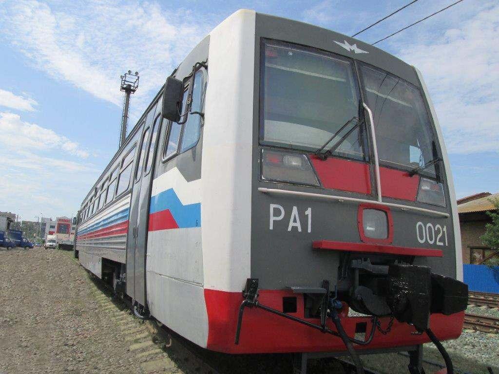 Рельсовый автобус впервые выходит на маршрут в Астрахани