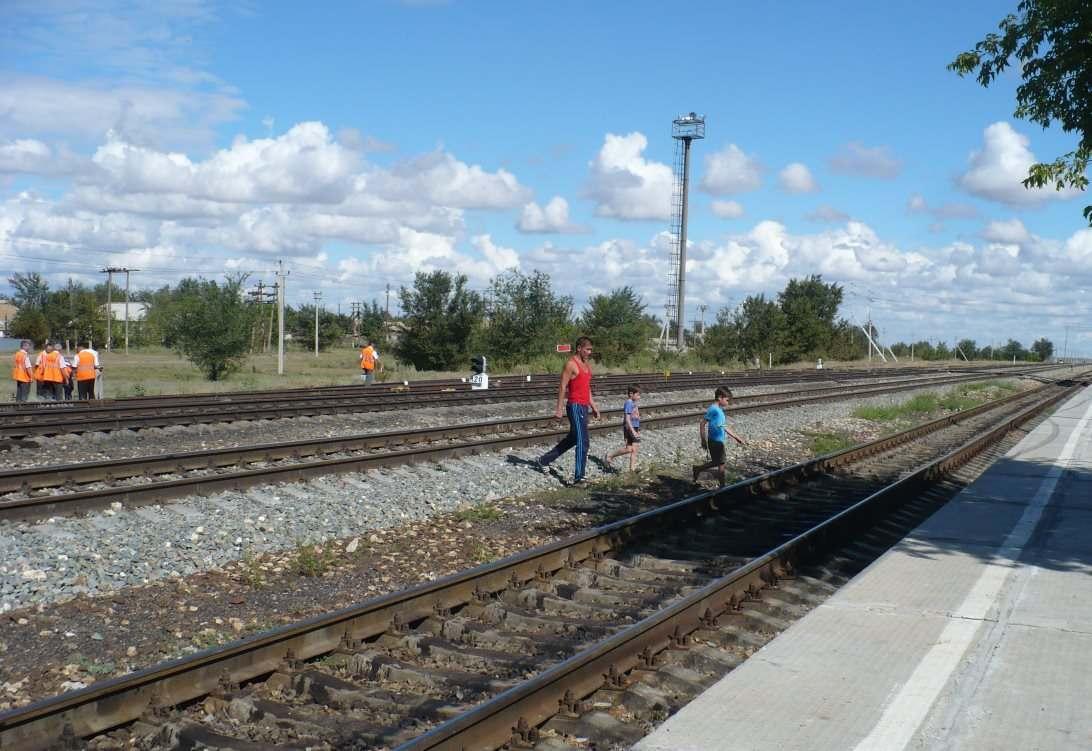 Железнодорожники научили безопасности на путях тысячу астраханских детей