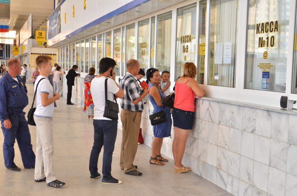 В Астраханской области работают восемь касс с билетами на поезда дальнего следования
