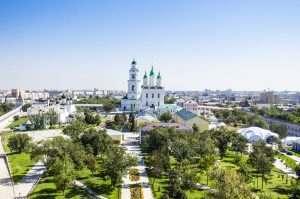 На Астрахань можно будет посмотреть свысока