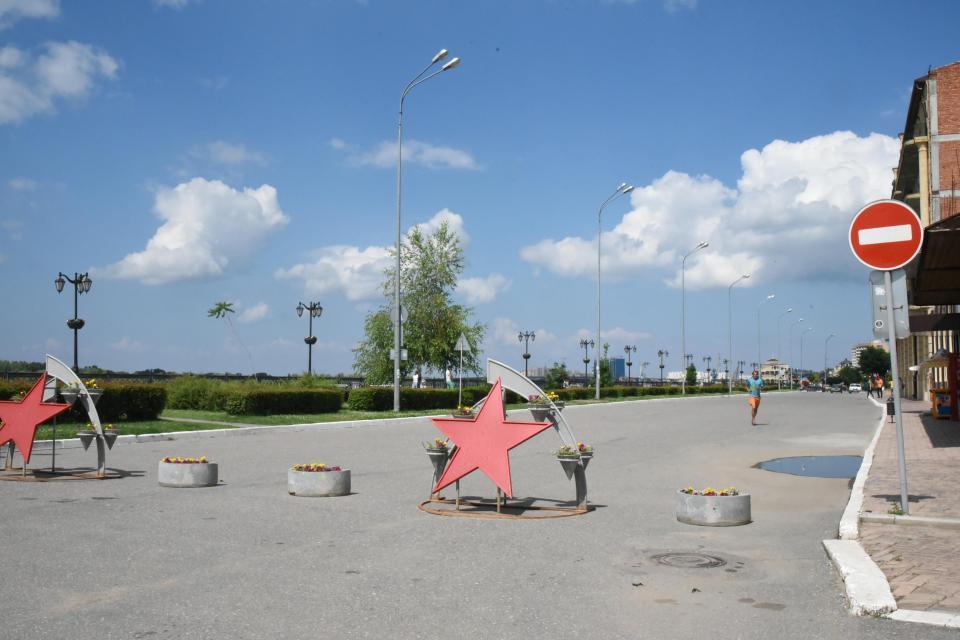 В Астрахани появилась новая пешеходная зона