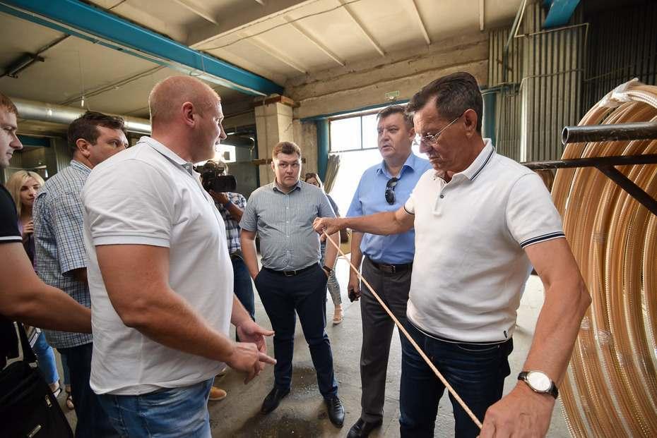 Александр Жилкин пообещал поддержать строительный бизнес