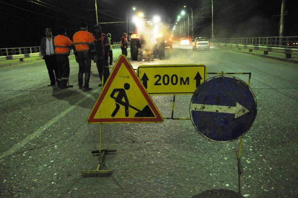 Новый мост через Волгу снова встает на ремонт