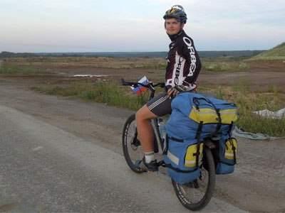 Велопутешественник из Брянска хочет доехать до Астрахани